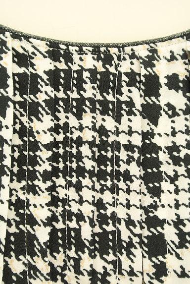 KUMIKYOKU(組曲)の古着「千鳥格子柄ラメカットソー(カットソー・プルオーバー)」大画像4へ