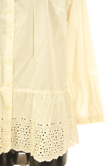 SM2(サマンサモスモス)の古着「ナチュラル刺繍レースブラウス(ブラウス)」大画像5へ