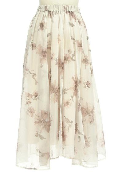 31 Sons de mode(トランテアン ソン ドゥ モード)の古着「ふわっとエアリーな花柄スカート(ロングスカート・マキシスカート)」大画像2へ