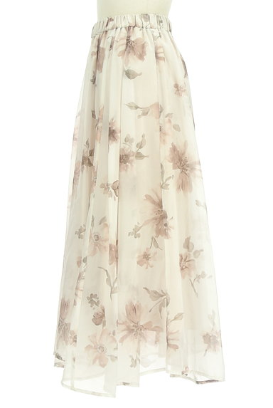 31 Sons de mode(トランテアン ソン ドゥ モード)の古着「ふわっとエアリーな花柄スカート(ロングスカート・マキシスカート)」大画像3へ