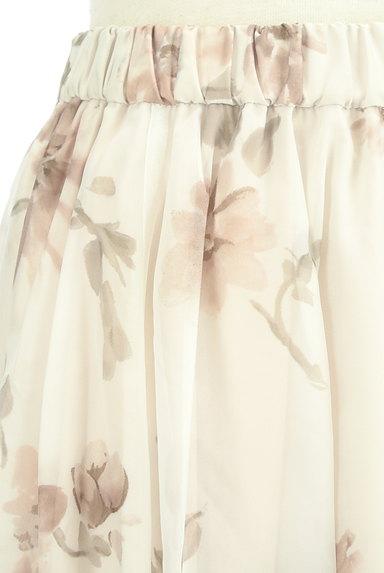 31 Sons de mode(トランテアン ソン ドゥ モード)の古着「ふわっとエアリーな花柄スカート(ロングスカート・マキシスカート)」大画像4へ