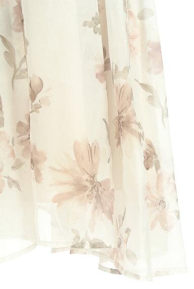 31 Sons de mode(トランテアン ソン ドゥ モード)の古着「ふわっとエアリーな花柄スカート(ロングスカート・マキシスカート)」大画像5へ