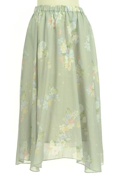 31 Sons de mode(トランテアン ソン ドゥ モード)の古着「エアリーに揺れる花柄ロングスカート(ロングスカート・マキシスカート)」大画像1へ