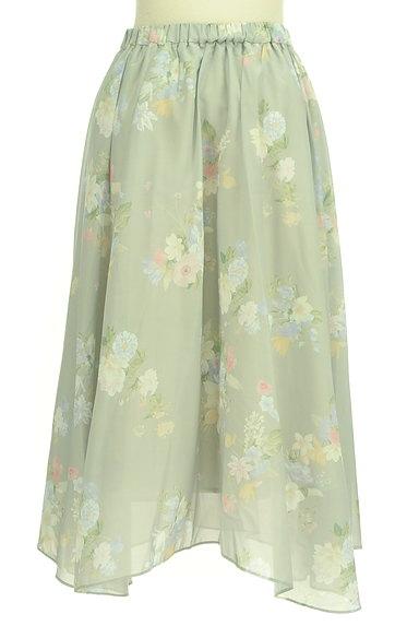31 Sons de mode(トランテアン ソン ドゥ モード)の古着「エアリーに揺れる花柄ロングスカート(ロングスカート・マキシスカート)」大画像2へ