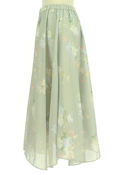 31 Sons de mode(トランテアン ソン ドゥ モード)の古着「エアリーに揺れる花柄ロングスカート(ロングスカート・マキシスカート)」大画像3へ