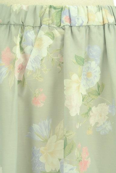 31 Sons de mode(トランテアン ソン ドゥ モード)の古着「エアリーに揺れる花柄ロングスカート(ロングスカート・マキシスカート)」大画像4へ