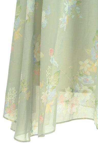 31 Sons de mode(トランテアン ソン ドゥ モード)の古着「エアリーに揺れる花柄ロングスカート(ロングスカート・マキシスカート)」大画像5へ