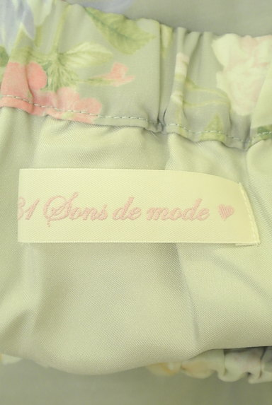 31 Sons de mode(トランテアン ソン ドゥ モード)の古着「エアリーに揺れる花柄ロングスカート(ロングスカート・マキシスカート)」大画像6へ