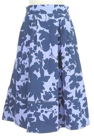 31 Sons de mode(トランテアン ソン ドゥ モード)の古着「シルエット花柄フレアスカート(スカート)」大画像1へ