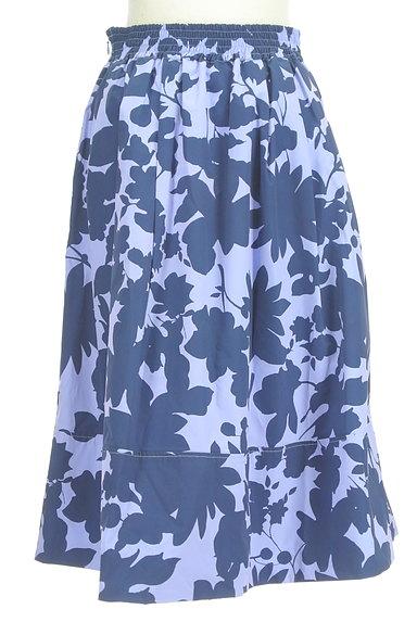 31 Sons de mode(トランテアン ソン ドゥ モード)の古着「シルエット花柄フレアスカート(スカート)」大画像2へ