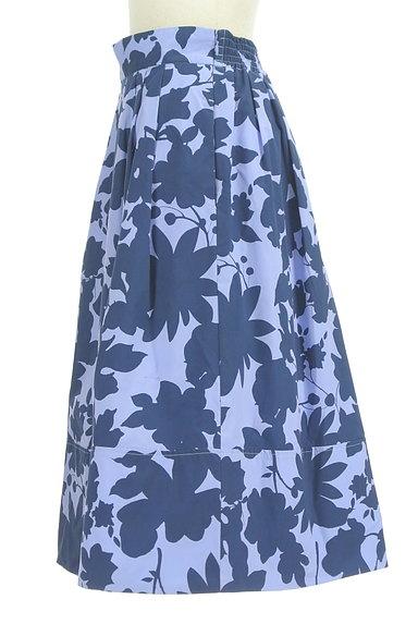 31 Sons de mode(トランテアン ソン ドゥ モード)の古着「シルエット花柄フレアスカート(スカート)」大画像3へ