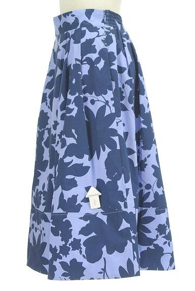 31 Sons de mode(トランテアン ソン ドゥ モード)の古着「シルエット花柄フレアスカート(スカート)」大画像4へ