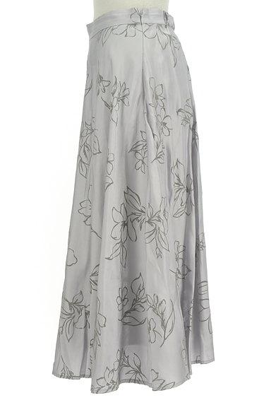 31 Sons de mode(トランテアン ソン ドゥ モード)の古着「グロッシー花柄ロングスカート(ロングスカート・マキシスカート)」大画像3へ
