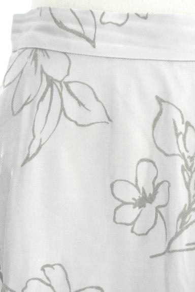 31 Sons de mode(トランテアン ソン ドゥ モード)の古着「グロッシー花柄ロングスカート(ロングスカート・マキシスカート)」大画像4へ