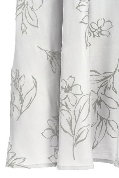 31 Sons de mode(トランテアン ソン ドゥ モード)の古着「グロッシー花柄ロングスカート(ロングスカート・マキシスカート)」大画像5へ