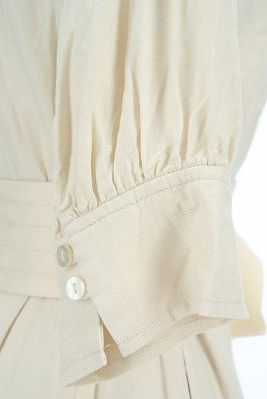 31 Sons de mode(トランテアン ソン ドゥ モード)の古着「ベルト付きオープンカラーロングワンピ(ワンピース・チュニック)」大画像5へ