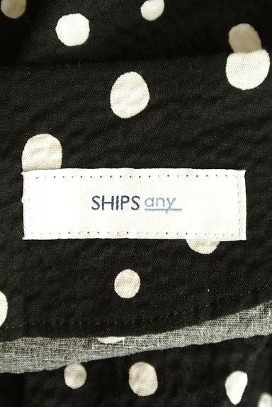 SHIPS(シップス)の古着「オープンカラードット柄ロングワンピ(ワンピース・チュニック)」大画像6へ
