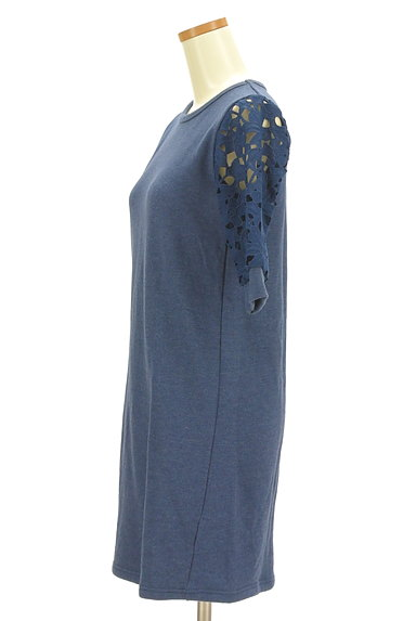 Khaju(カージュ)の古着「刺繍レース五分袖ワンピース(ワンピース・チュニック)」大画像3へ
