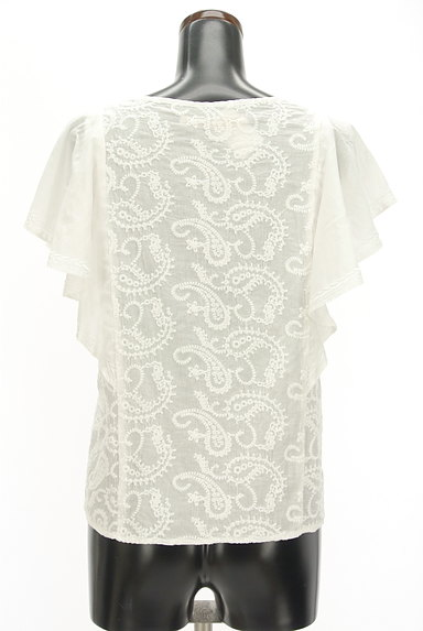 Khaju(カージュ)の古着「ペイズリー刺繍フリル袖カットソー(カットソー・プルオーバー)」大画像2へ