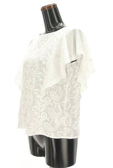 Khaju(カージュ)の古着「ペイズリー刺繍フリル袖カットソー(カットソー・プルオーバー)」大画像3へ