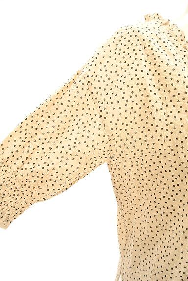 Khaju(カージュ)の古着「ドット柄フリル七分袖ブラウス(ブラウス)」大画像5へ