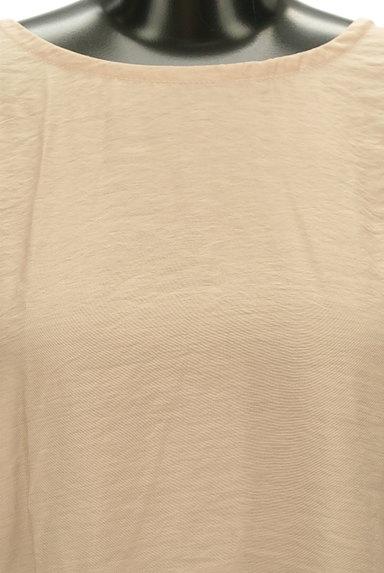 ROSSO(ロッソ)の古着「シフォン花袖微光沢五分袖カットソー(カットソー・プルオーバー)」大画像5へ
