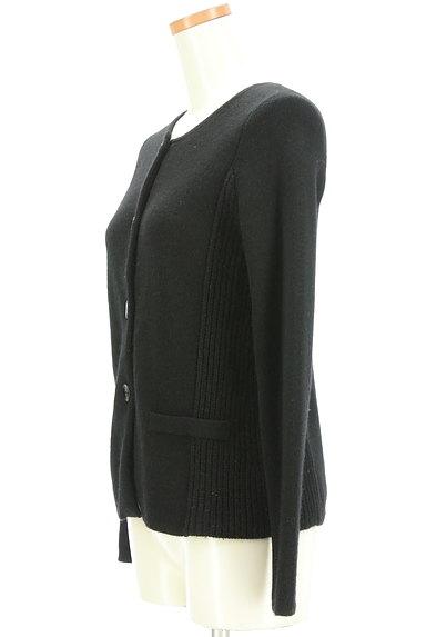 LAUTREAMONT(ロートレアモン)の古着「サイドリブニットカーディガン(カーディガン・ボレロ)」大画像3へ