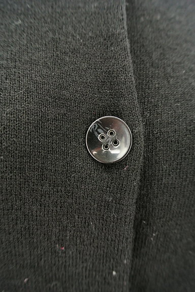 LAUTREAMONT(ロートレアモン)の古着「サイドリブニットカーディガン(カーディガン・ボレロ)」大画像4へ