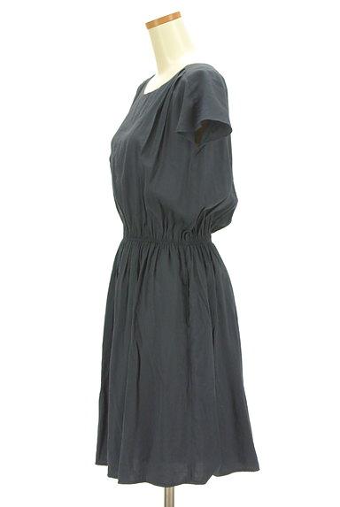 LAUTREAMONT(ロートレアモン)の古着「ウエストゴムフレンチスリーブワンピ(ワンピース・チュニック)」大画像3へ