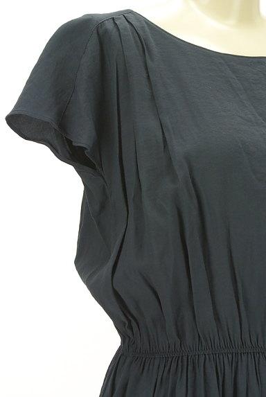 LAUTREAMONT(ロートレアモン)の古着「ウエストゴムフレンチスリーブワンピ(ワンピース・チュニック)」大画像4へ