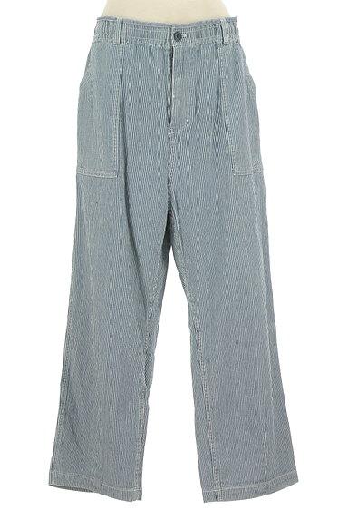 CUBE SUGAR(キューブシュガー)の古着「ヒッコリーデニムパンツ(デニムパンツ)」大画像1へ