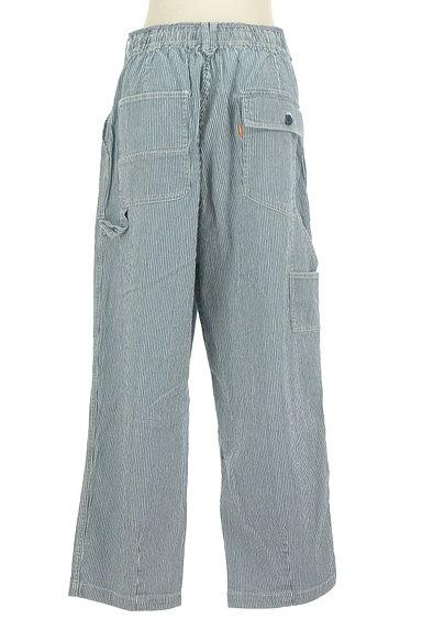 CUBE SUGAR(キューブシュガー)の古着「ヒッコリーデニムパンツ(デニムパンツ)」大画像2へ