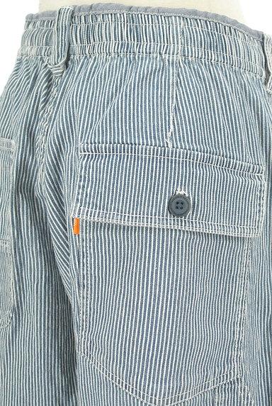 CUBE SUGAR(キューブシュガー)の古着「ヒッコリーデニムパンツ(デニムパンツ)」大画像4へ