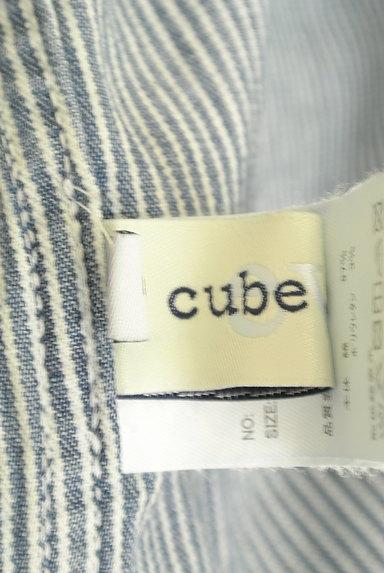 CUBE SUGAR(キューブシュガー)の古着「ヒッコリーデニムパンツ(デニムパンツ)」大画像6へ