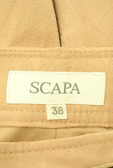 SCAPA(スキャパ)の古着「膝下丈花柄ジャガードスカート(スカート)」大画像6へ