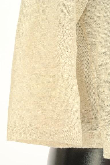 MARGARET HOWELL(マーガレットハウエル)の古着「コットンリネンカーディガン(カーディガン・ボレロ)」大画像5へ