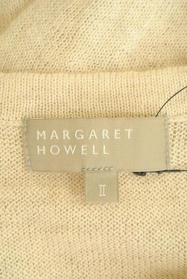 MARGARET HOWELL(マーガレットハウエル)の古着「コットンリネンカーディガン(カーディガン・ボレロ)」大画像6へ