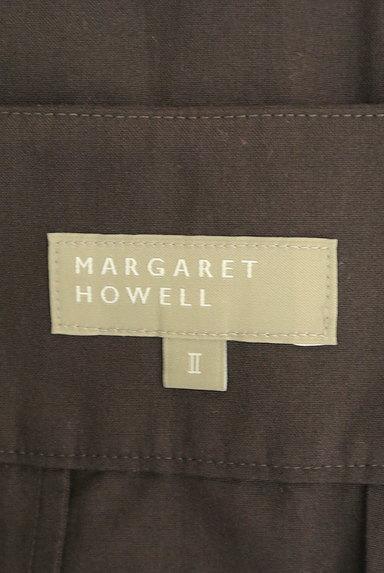 MARGARET HOWELL(マーガレットハウエル)の古着「膝下丈タックスカート(スカート)」大画像6へ