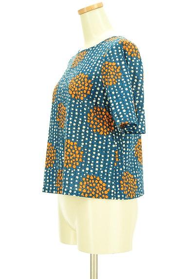 Sally Scott(サリースコット)の古着「手書き風レトロ柄カットソー(カットソー・プルオーバー)」大画像3へ