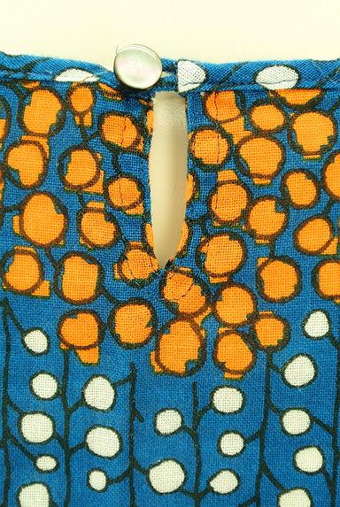 Sally Scott(サリースコット)の古着「手書き風レトロ柄カットソー(カットソー・プルオーバー)」大画像4へ