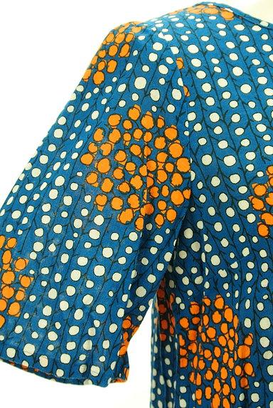 Sally Scott(サリースコット)の古着「手書き風レトロ柄カットソー(カットソー・プルオーバー)」大画像5へ