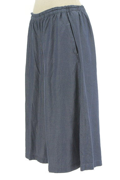 Sally Scott(サリースコット)の古着「シャンブレー膝下丈ハーフパンツ(ショートパンツ・ハーフパンツ)」大画像3へ