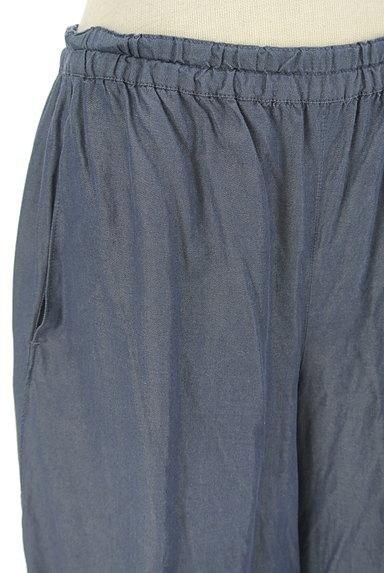 Sally Scott(サリースコット)の古着「シャンブレー膝下丈ハーフパンツ(ショートパンツ・ハーフパンツ)」大画像4へ