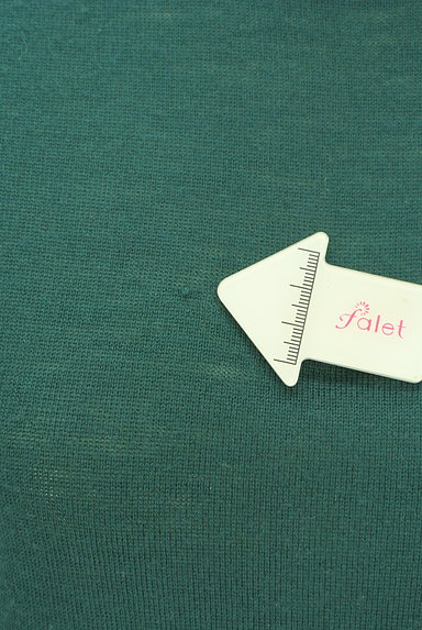 Sally Scott(サリースコット)の古着「ネコ刺繍ワンポイントタートルネックニット(ニット)」大画像5へ