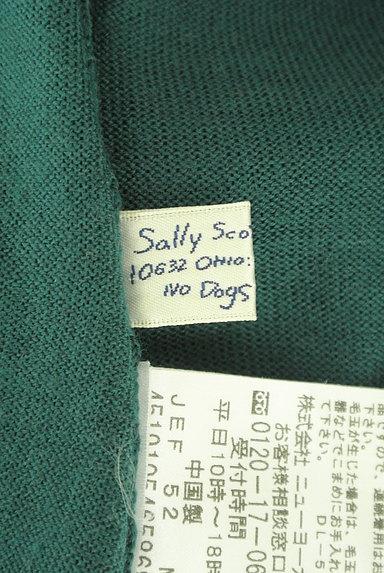 Sally Scott(サリースコット)の古着「ネコ刺繍ワンポイントタートルネックニット(ニット)」大画像6へ