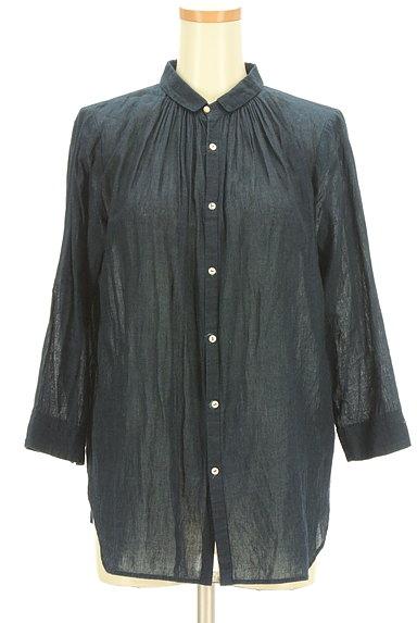PAL'LAS PALACE(パラスパレス)の古着「コットンシアーシャツ(カジュアルシャツ)」大画像1へ
