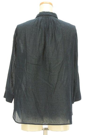 PAL'LAS PALACE(パラスパレス)の古着「コットンシアーシャツ(カジュアルシャツ)」大画像2へ