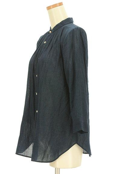 PAL'LAS PALACE(パラスパレス)の古着「コットンシアーシャツ(カジュアルシャツ)」大画像3へ