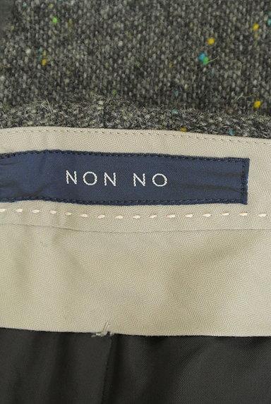 Mademoiselle NON NON(マドモアゼルノンノン)の古着「ミックスウールパンツ(パンツ)」大画像6へ