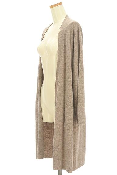Mademoiselle NON NON(マドモアゼルノンノン)の古着「フロントオープンロングカーディガン(カーディガン・ボレロ)」大画像3へ